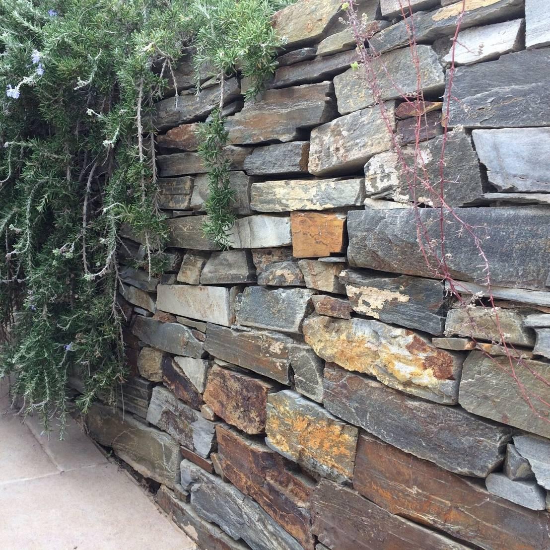 Liebenswert Homify Garten Foto Von Mauersteine Aus Quarzit - Herrlich Natürlich Und