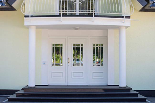Blickfang Klepfer Naturstein Sammlung Von Außentreppe - Das Eingangspodest Für Den Eingang