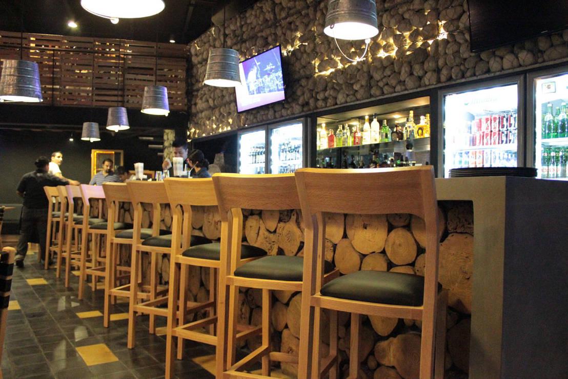 Dise o de restaurante mosto beer house de dise o de bares for Disenos para bares