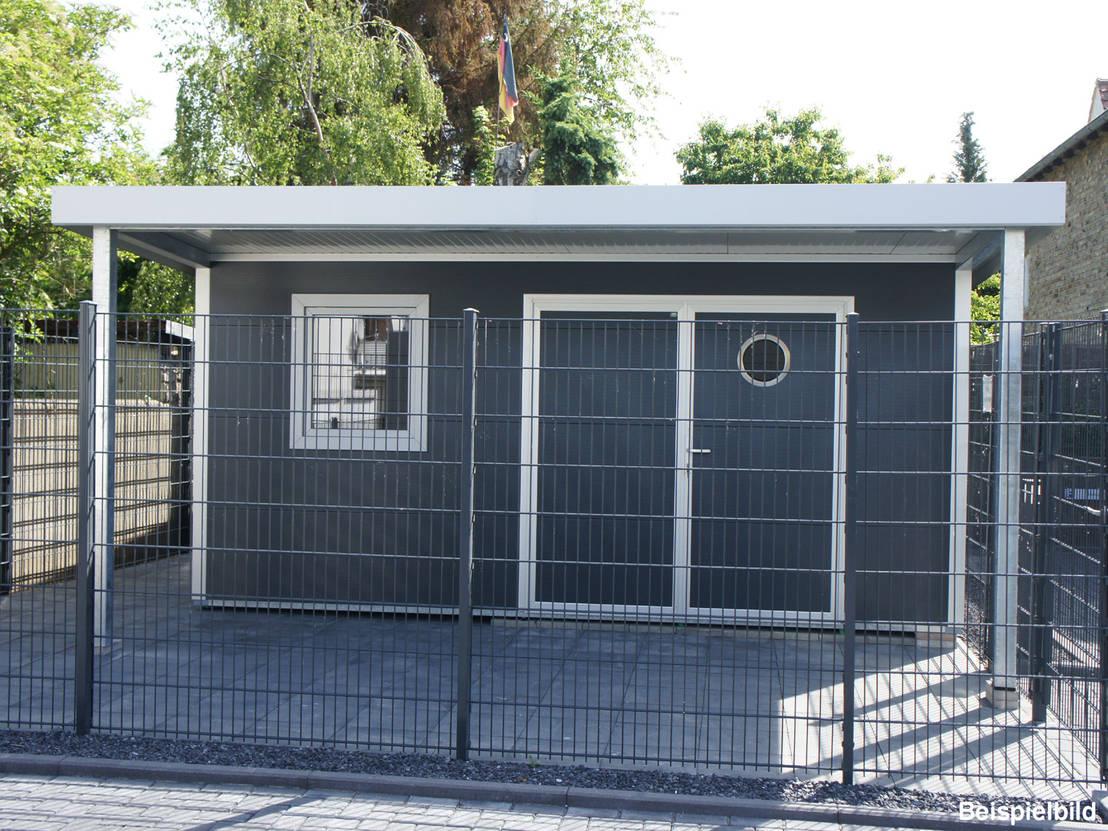 Go Iso Hochwertiges Gartenhaus Isoliert 5 00 X 4 50 M Von