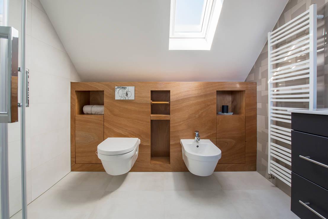 Spiegel Op Maat : Badkamer op zolder von stefania rastellino interior design homify