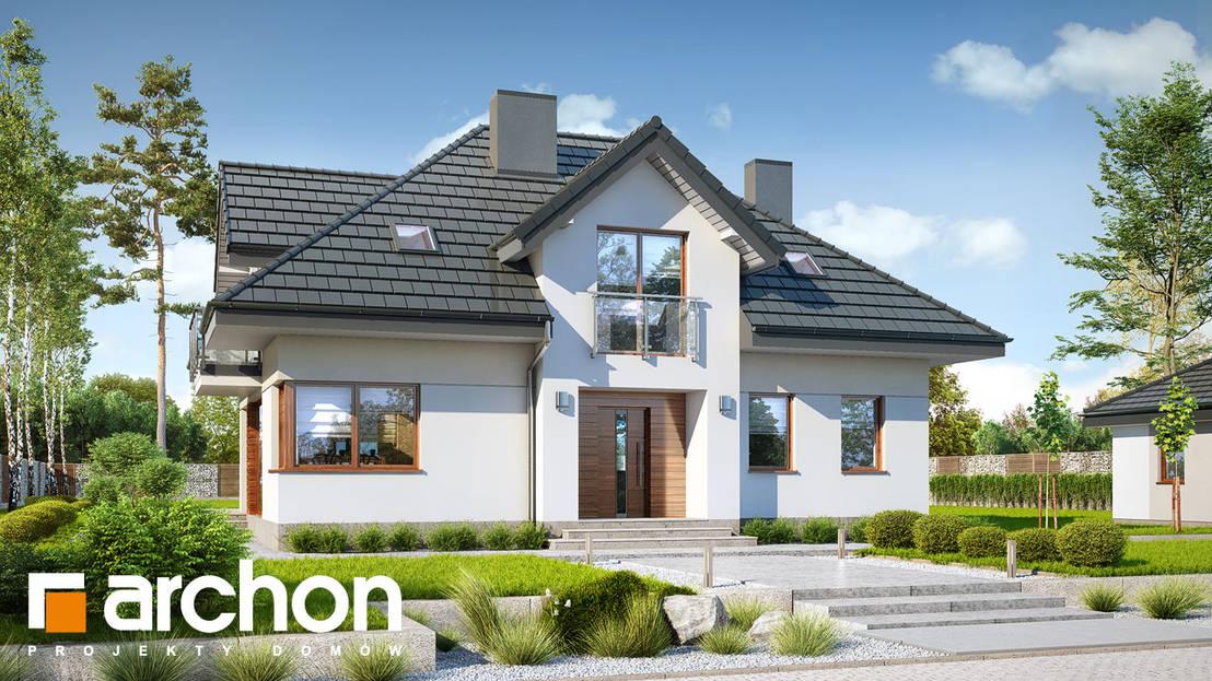 Dom W Sliwach 2 Profesjonalista Archon Projekty Domow Homify