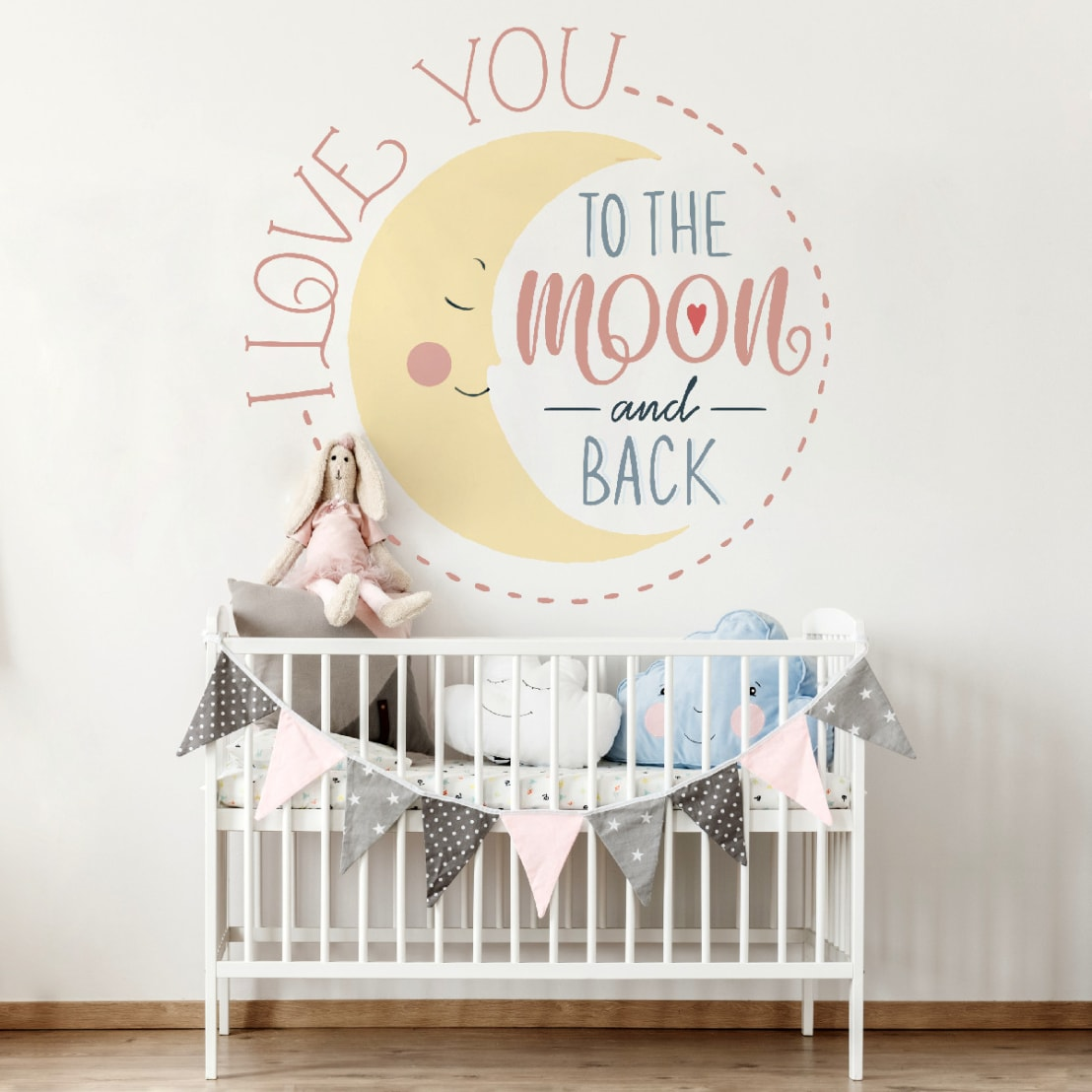 Pareti Pitturate A Fasce pareti dipinte a mano libera di baby interior design | homify