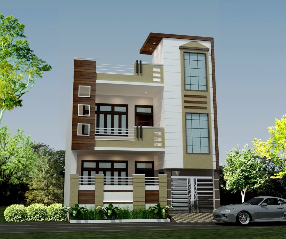Modern Home Elevation Design