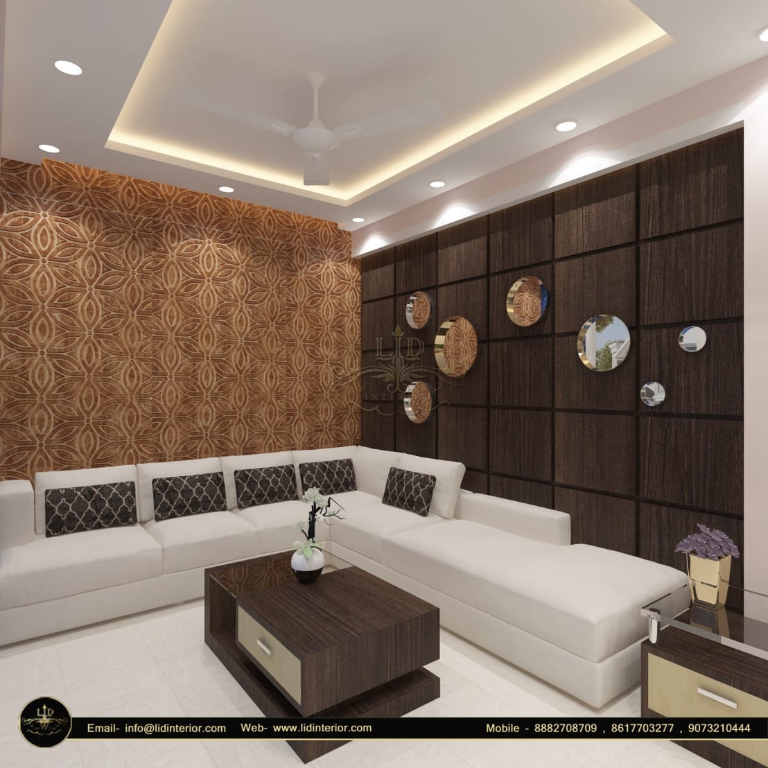Dr Anamika Roy S Latest Modern 3 Bhk Flat Interior Design Decoration Action Area 1 Kolkata Lid Interior Pvt Ltd Homify