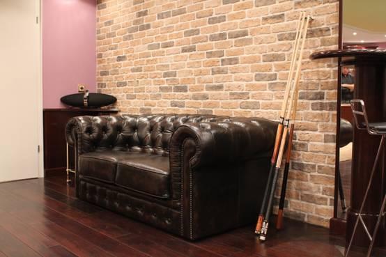 m bel und accessoires im leder look. Black Bedroom Furniture Sets. Home Design Ideas
