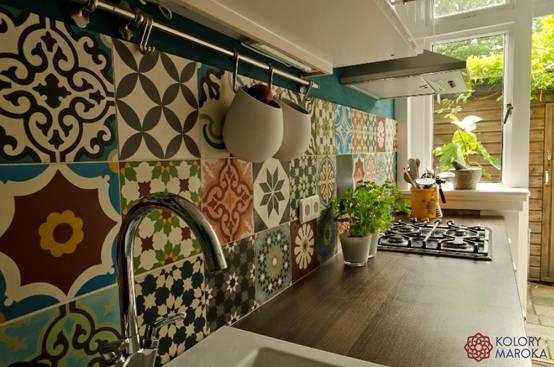 14 idee preziose per rivestire la parete di fondo della tua cucina