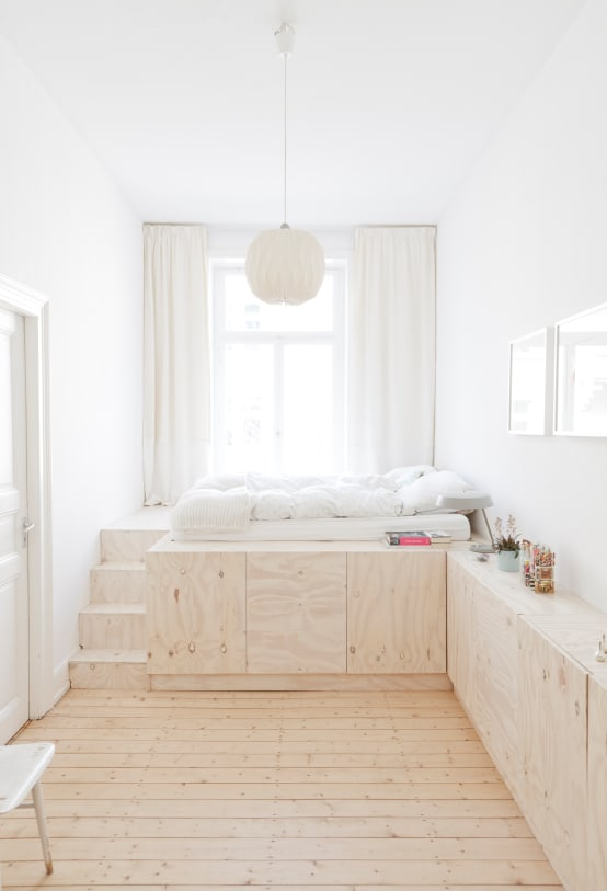 7 Terrific Tiny Bedrooms To Totally Copy