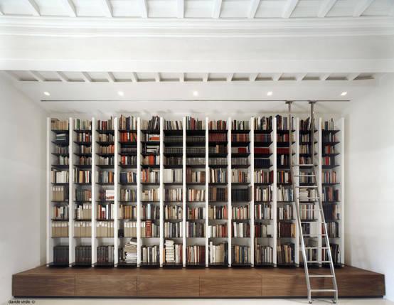 Librerie di puro design