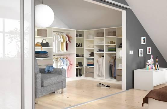 7 begehbare kleiderschr nke mit dem gewissen etwas. Black Bedroom Furniture Sets. Home Design Ideas