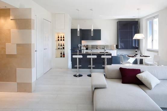 dialogo perfetto tra cucina e soggiorno: 5 ambienti da copiare - Soggiorno E Cucina Separati