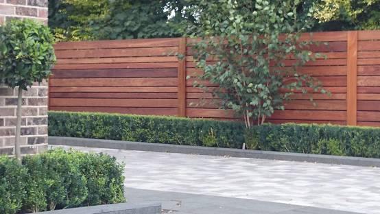 Contemporary screening , fencing & wall panels