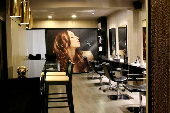 El dise o de la belleza peluquer as - Diseno peluqueria ...