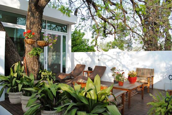 12 ideas para jardines peque os que te van a inspirar - Accesorios para jardines pequenos ...