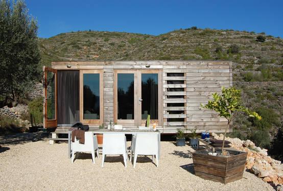 Una casa prefabbricata 51 mq di legno e di risparmio for Casa prefabbricata 40 mq