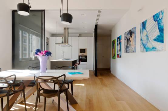 6 idee n die van je huis iets heel speciaals maken - Studio stijl glazen partitie ...