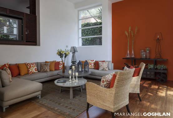 Colores para decorar tu casa y que se vea moderna for Casa jardin revista
