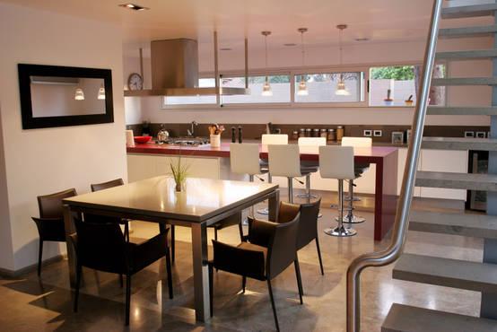 Pisos de concreto pulido 18 ideas que te van a encantar for Piso cocinas minimalistas
