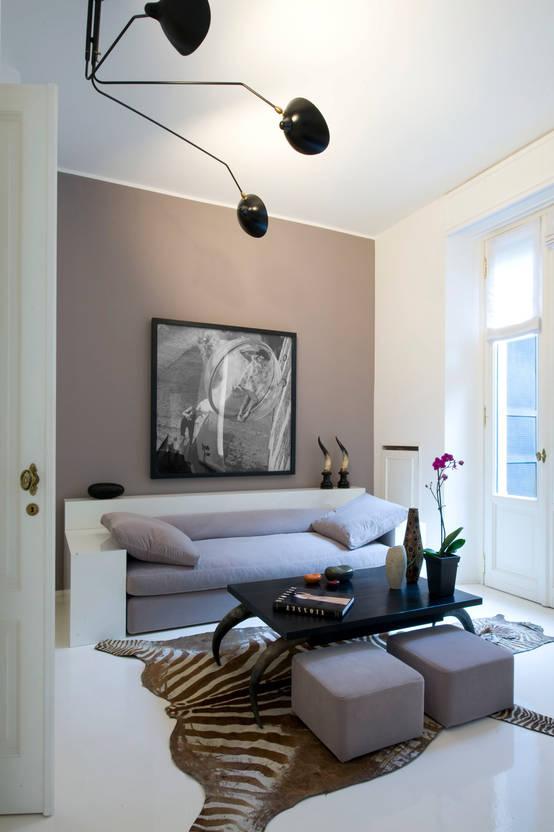 Idee creative per arredare un soggiorno piccolo for Idee per arredare un ufficio