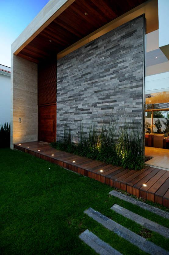 10 Ideas Modernas Para Recubrir La Fachada De Tu Casa - Recubrimientos-fachadas