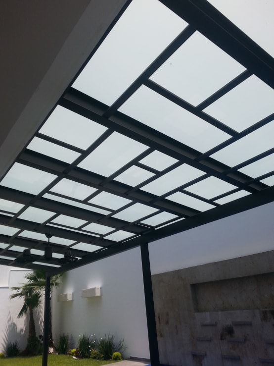 8 strong and beautiful outdoor metal ceilings