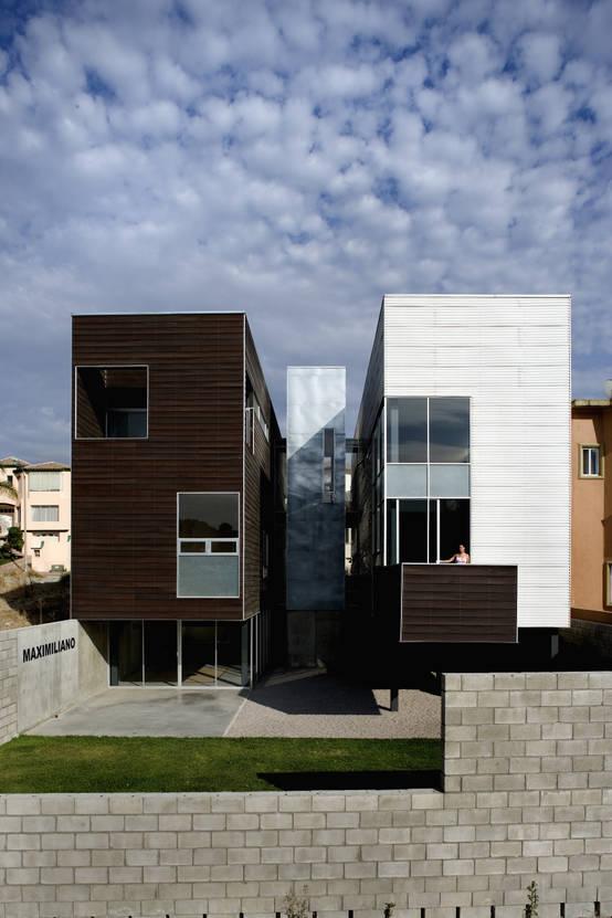 5 modernas fachadas dise adas por arquitectos mexicanos for Arquitectos mexicanos