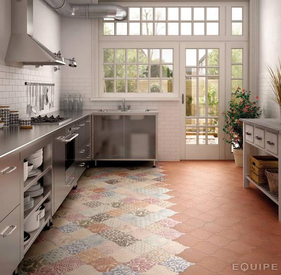 Combinar el color de pared con los muebles 7 trucos - Combinar colores cocina ...