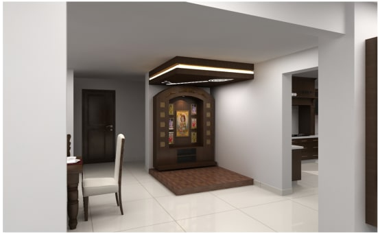 Pooja Room Furniture Design