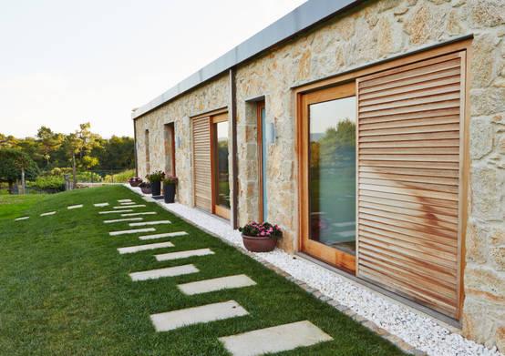 Los 10 mejores revestimientos para tus paredes exteriores for Revestimiento exterior zinc