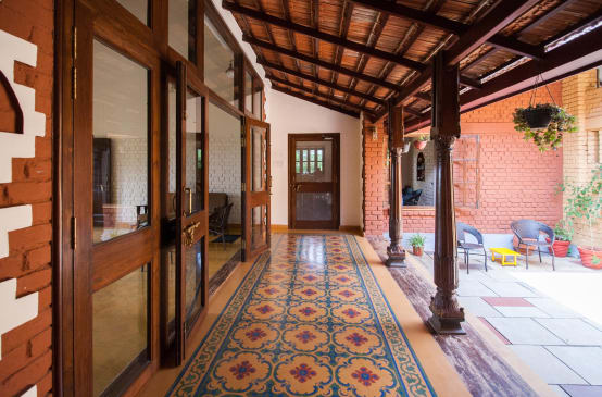 15 pictures of courtyards in Indian homes   homify