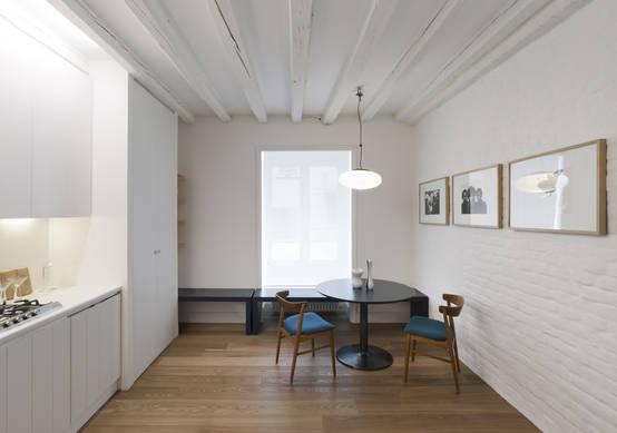Apartamento peque o 60 m muy bien aprovechados for Apartamento muy pequeno