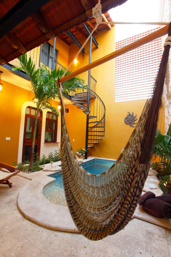 6 creativas sillas hamacas y columpios para tu jard n - Columpios de terraza ...