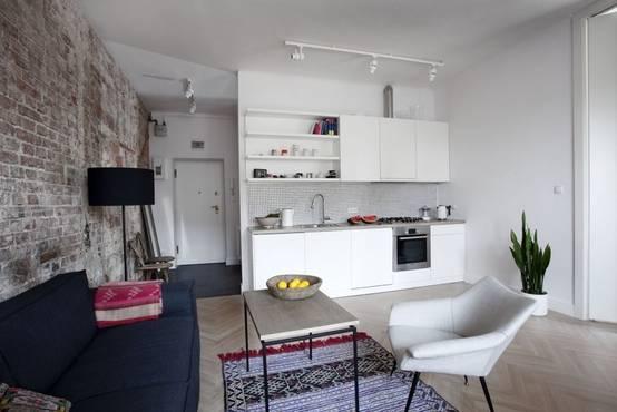 21 cocinas no muy grandes que te inspirar n a cambiar la tuya for Piccoli piani di case quadrate