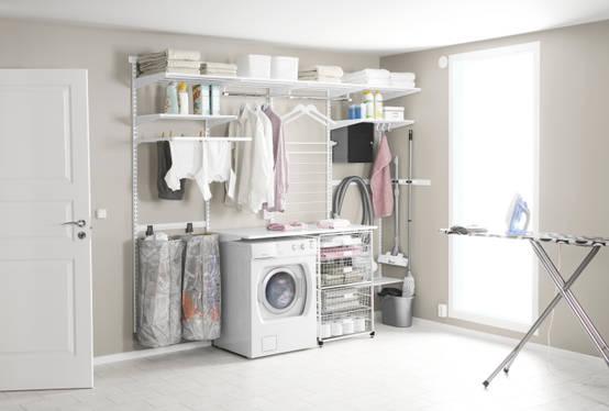 Jak zaprojektowa wygodn i praktyczn pralni - Amenager kast ...