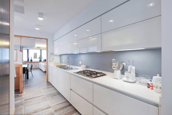 10 cucine a parete da innamorarsi - Cucine a parete ...