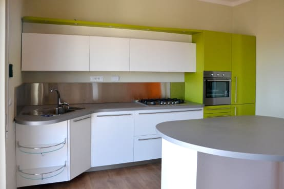 Homify for Ingresso soggiorno cucina ambiente unico