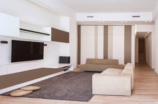 Come arredare un soggiorno moderno for Esempi di arredamento
