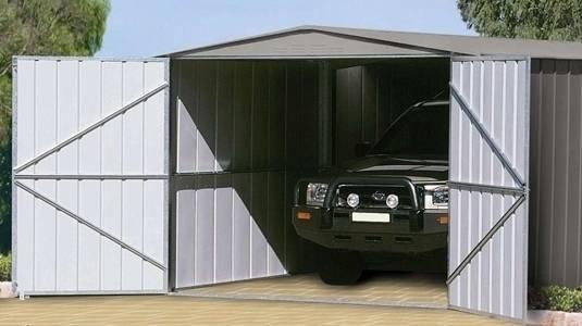 Garaje metálcio