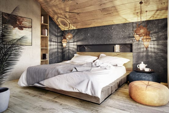 10 Pictures of small but sophisticated bed rooms
