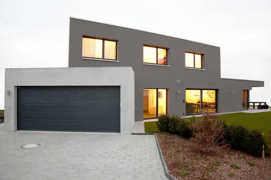 Das Haus Von Schwarz Und Weiß