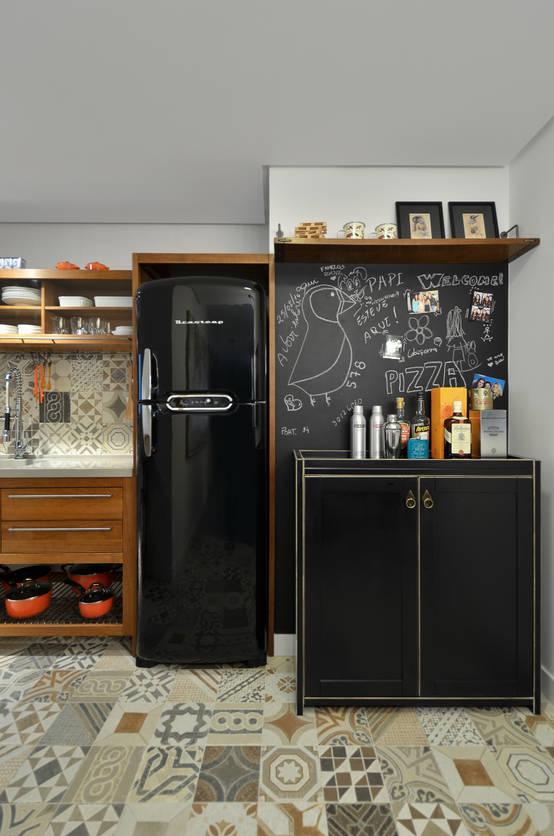 8 ideas para colocar la refrigeradora en una cocina pequeña