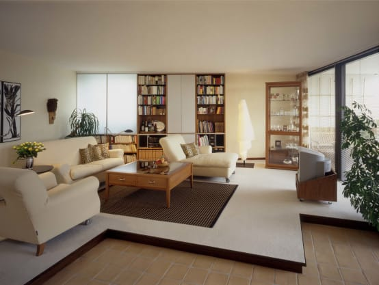 einrichten einer wohnung im mediterranen stil. Black Bedroom Furniture Sets. Home Design Ideas