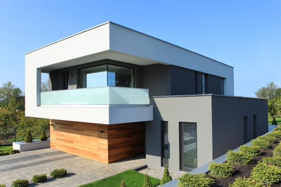 The small house with big style for Modernes haus zeichnen