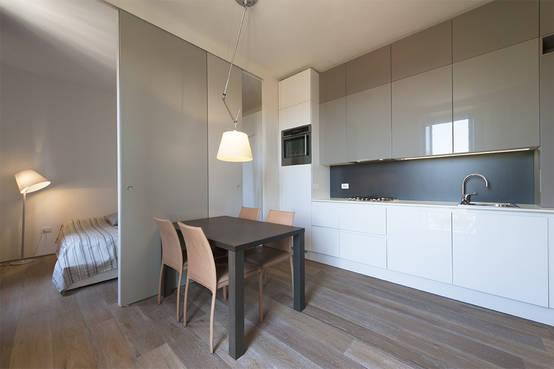 Come arredare una cucina piccola idee per spazi stretti for Immagini color tortora