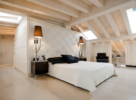 Idee color crema e panna per la camera da letto for Camera letto e studio