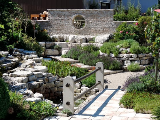 the 10 most sensational rock garden designs. Black Bedroom Furniture Sets. Home Design Ideas