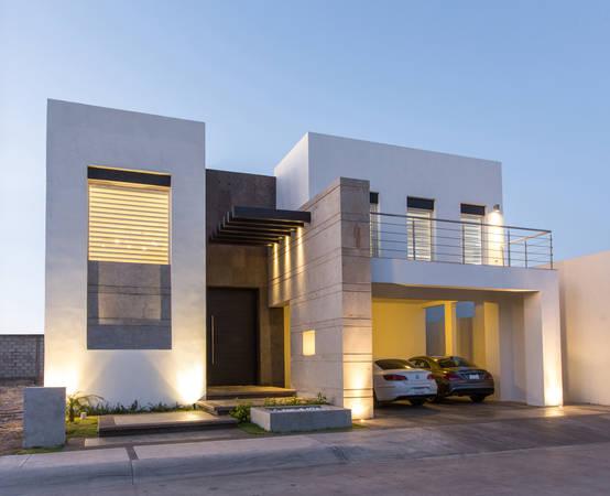 15 magnifiques fa ades de maisons modernes. Black Bedroom Furniture Sets. Home Design Ideas