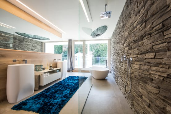 Vasca Da Bagno Ruvida : K c bianco stand alone superficie solida pietra resina vasca