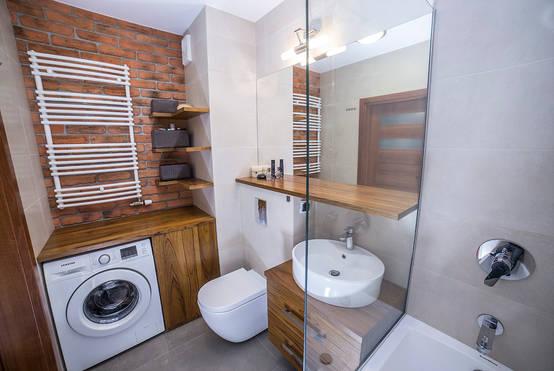 Wasmachine Kast Badkamer : Ideeën om je wasmachine uit het zicht in je badkamer te plaatsen