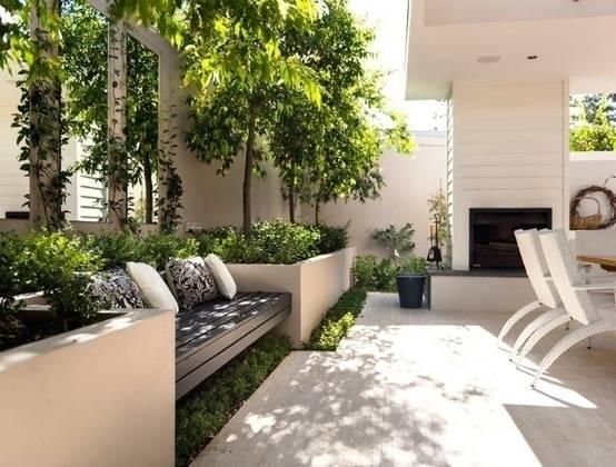 Jardines modernos 7 pasos para hacer tus propias - Jardineras para jardin ...